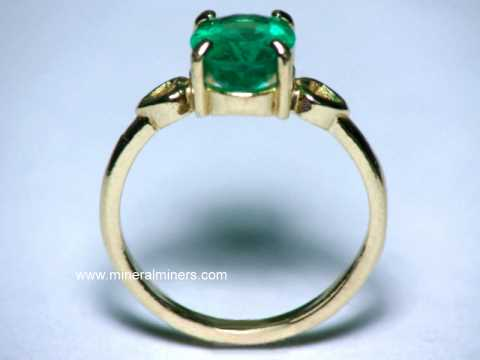 Emerald Rings Genuine Emerald Rings