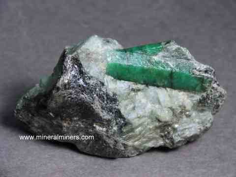 Emerald Mineral Specimens