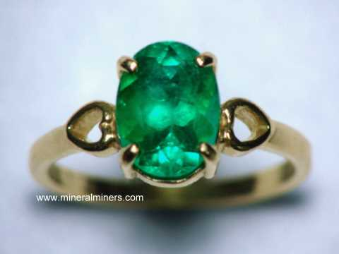 Natural Emerald jewelry
