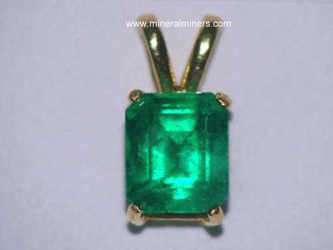 Colombian Emerald Jewelry