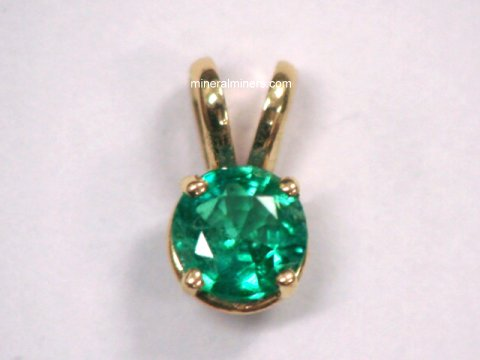 Emerald Pendants