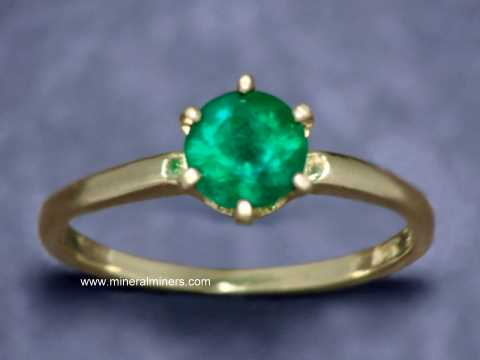 Emerald Rings: genuine emerald rings