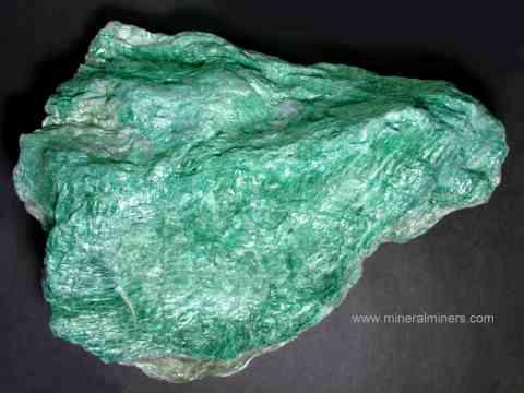 Fuchsite Mica Mineral Specimens Natural Green Fuchsite