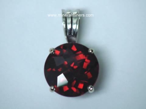 Red garnet earrings in 14k gold red garnet jewelry pendants red garnet 14k jewelry mozeypictures Gallery