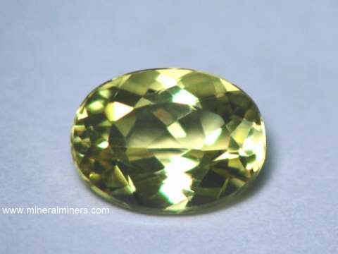 Heliodor Gemstone