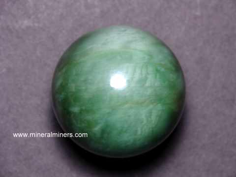 Cats Eye Jade Spheres