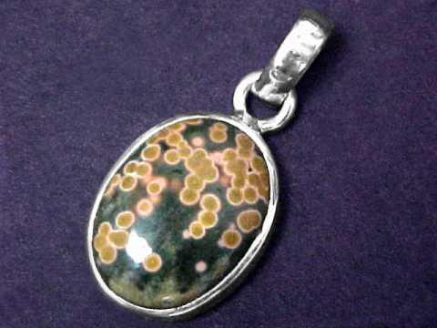 Jasper jewelry ocean jasper necklaces pendants rings bracelets ocean jasper pendant in sterling silver item jasj142 aloadofball Images