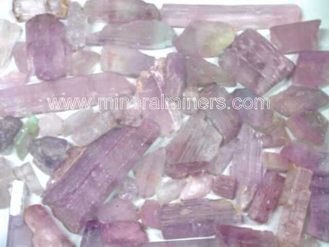 Kunzite Specimens (with super low bulk quantity discounts!)