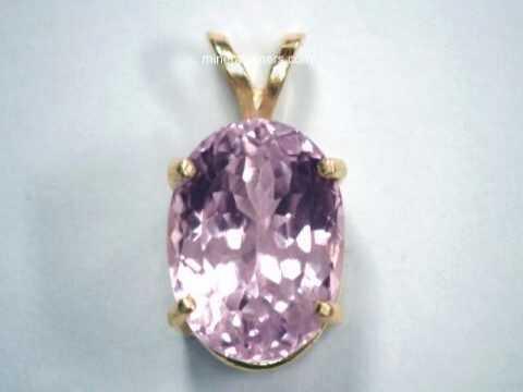 Kunzite jewelry natural kunzite pendants necklaces and kunzite item kunj180aakunzite jewelry mozeypictures Gallery