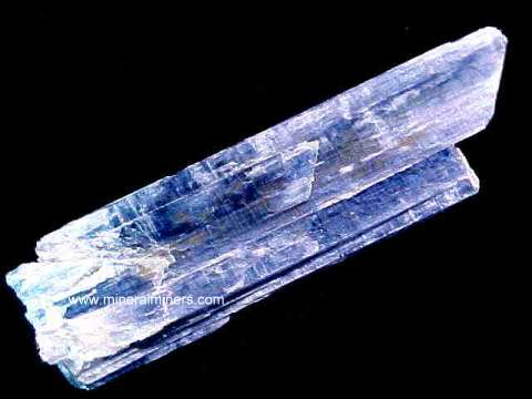 Blue Kyanite Crystals