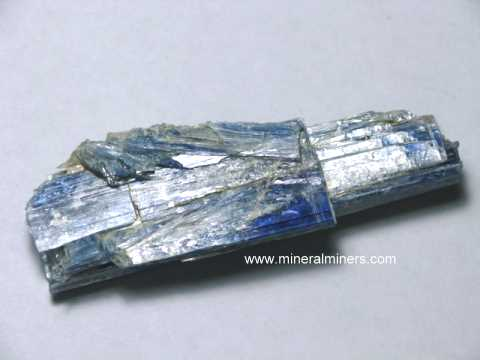 Kyanite Crystals: Natural Color Blue Kyanite Crystals