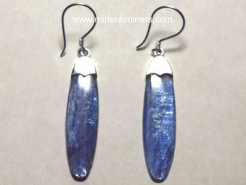 Click On Any Of Our Blue Kyanite Earrings Necklaces Or Other Jewelry Images Below To Enlarge It