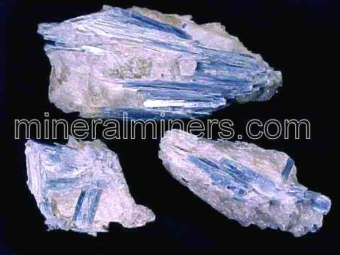 Blue Kyanite in Quartz Matrix Specimens (with super low bulk quantity discounts!)