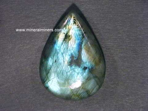 AWESOME NATURAL LABRADORITE Half Moon Shape Cabochon Loose Gemstone For Making Jewelry