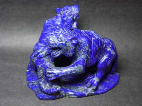 Collector Quality Lapis Lazuli Carvings, Jewelry and Decorator Specimens