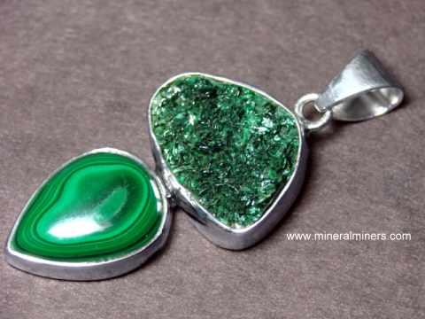 Malachite jewelry pendants necklaces rings malachite bracelets item mlcj212malachite jewelry aloadofball Choice Image
