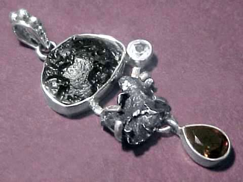 Meteorite jewelry genuine meteorite earrings necklaces pendants item metj276meteorite jewelry aloadofball Image collections