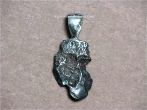 Index of imagesmeteoritemeteorite jewelry metj307 sikhote alin meteorite pendantg aloadofball Image collections