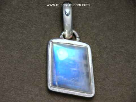 Blue Moonstone Jewelry