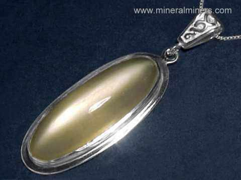 Natural Cats Eye Moonstone Jewelry