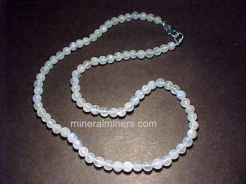 Moonstone necklaces item mooj230xmoonstone necklace mozeypictures Images