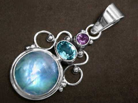 Moonstone jewelry natural rainbow moonstone blue moonstone item mooj315rmoonstonejewelry aloadofball Images
