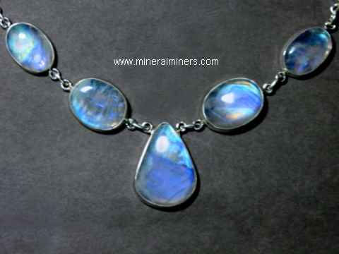 Round Moonstone Necklace 5 mm Round Moonstone Chain Necklace 36 inches long moonstone round necklace blue flashes chain necklace