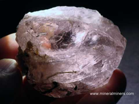 Morganite Facet Rough