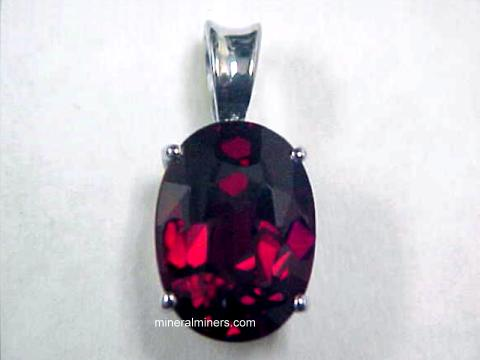 Index of imagesmozambique garnetred garnet jewelry red garnet pendantg aloadofball Images