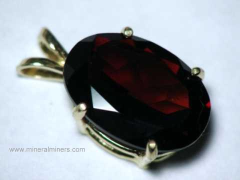 Garnet jewelry natural garnet jewelry of all garnet varieties item mozj137a aloadofball Choice Image