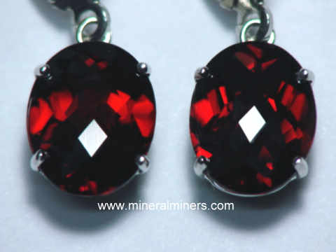 925 solid sterling silver faceted red garnet,citrine mix stone stud earring