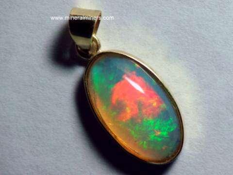 Opal jewelry welo opal jewelry very fine ethiopian opal pendant in 14k gold item mozeypictures Gallery