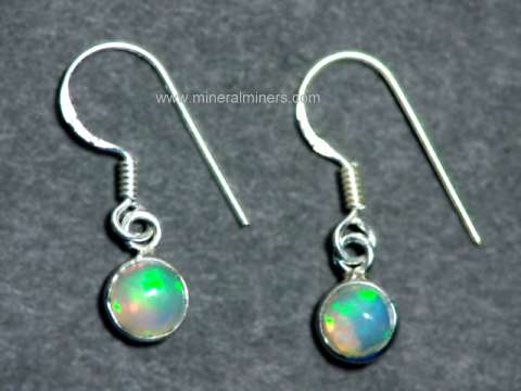 Click On Any Of Our Genuine Opal Earringimages Below To Enlarge It