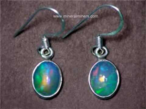 Item Opaj446 Ethiopian Opal Jewelry