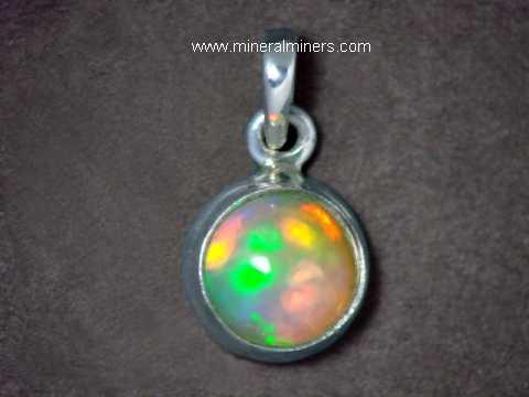 100/% Naturel 8 mm Améthyste /& Ethiopian Welo Opal RARE sterling silver 925 Pendentif