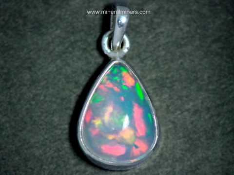 Opal Jewelry: natural Ethiopian opal jewelry