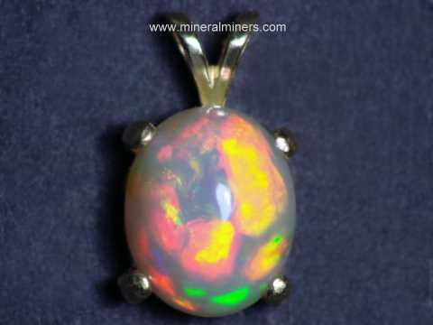 Opal Jewelry: Natural Opal Jewelry