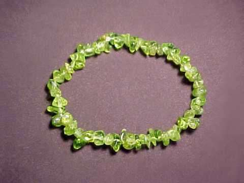 Select Any Peridot Bracelet Image Below To Enlarge It