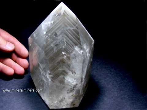 Large Phantom Quartz Decorator Crystal Specimens