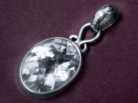 Quartz crystal jewelry natural rock crystal quartz jewelry aloadofball