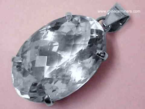 Rock crystal facet grade rough flawless natural quartz crystal rock crystal quartz pendant aloadofball Images