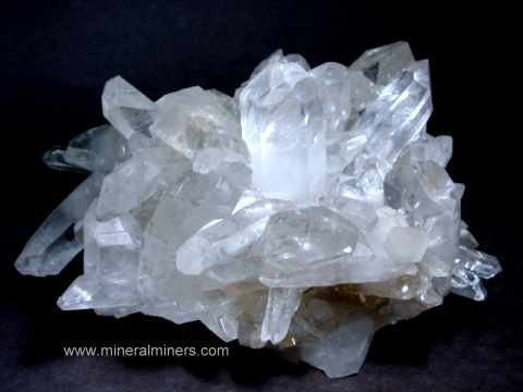 Quartz Crystals: natural quartz crystal