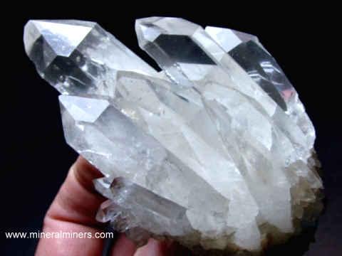 Cers Rock Crystal Mineral Specimens