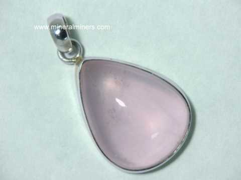 gemstone gold pendant jewelry vermeil products grande pink necklace pale rose il chain fullxfull quartz filled light