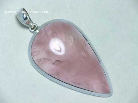 pink quartz generous pendulum pendant crystal buy healing rose necklace lunaazelea product
