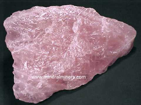 Rose Quartz Lapidary Rough