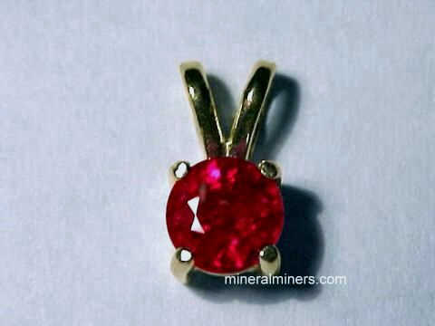Ruby Jewelry: Pendants, Necklaces, Bracelets and Ruby Rings