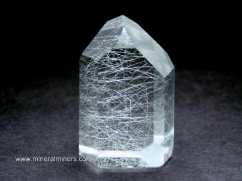 Rutilated Quartz Crystal