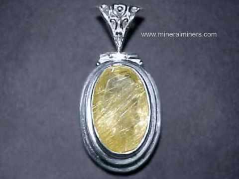 Faceted golden rutilated quartz pendant rtqj128 faceted golden rutilated quartz pendant mozeypictures Images