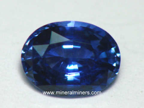 GIA Certified Natural Color Blue Sapphire Gemstone